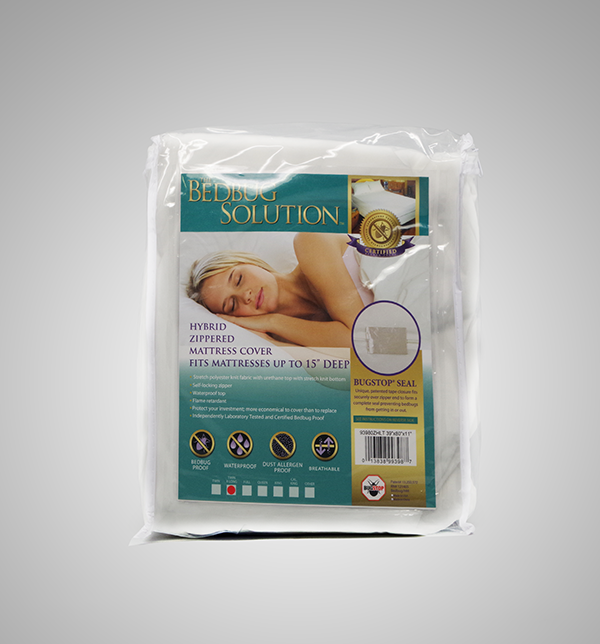 Twin XL Hybrid Zippered Mattress Cover